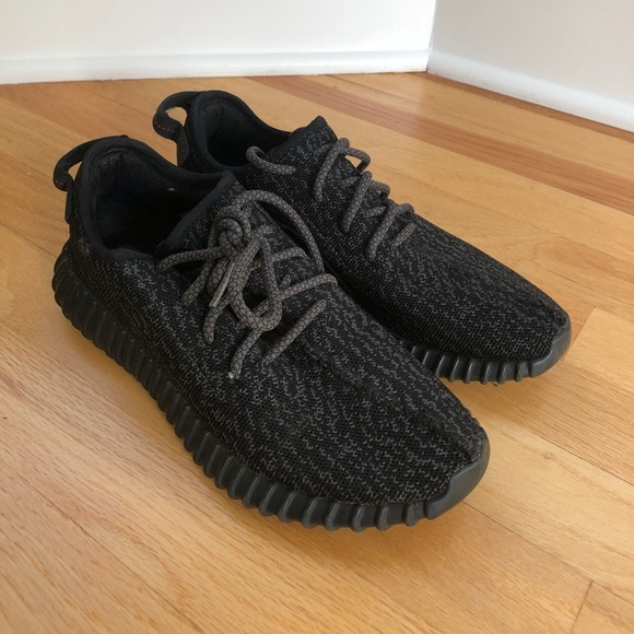 hot sales 97516 fcf87 Adidas Yeezy boost 350 pirate black men's 6.5